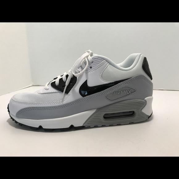 Nike air max 90 women's sneakers black white